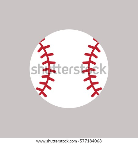Baseball vector icon