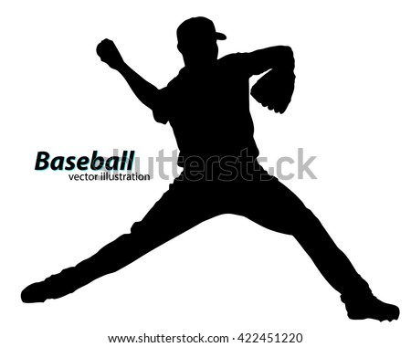 baseball silhouette stock images, royalty-free images & vectors