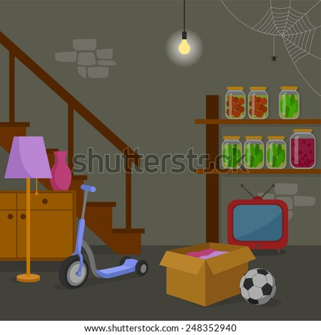 Basement Stock Vectors Images Amp Vector Art Shutterstock