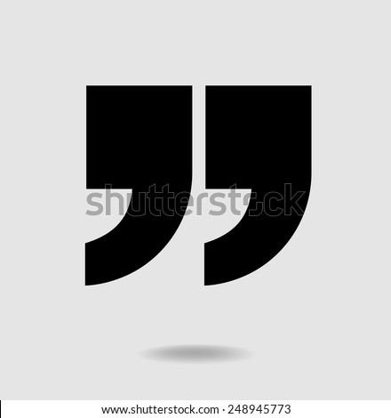 Quote Marks Stock Images, Royalty-Free Images & Vectors | Shutterstock