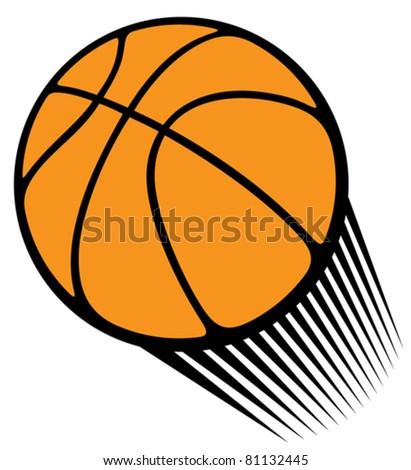basketball ball - stock vector