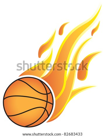 Basketball Fire Stock Images, Royalty-Free Images & Vectors ...