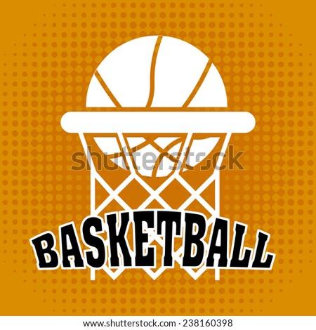 basketball design - stock vector
