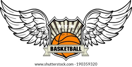 basketball design ,vector illustration