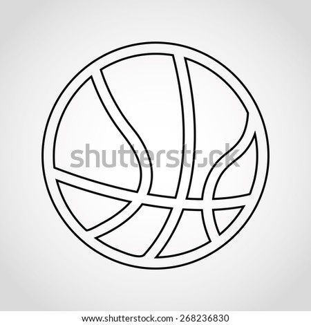 Basketball Graphic Designs Basketball Icon Design Vector