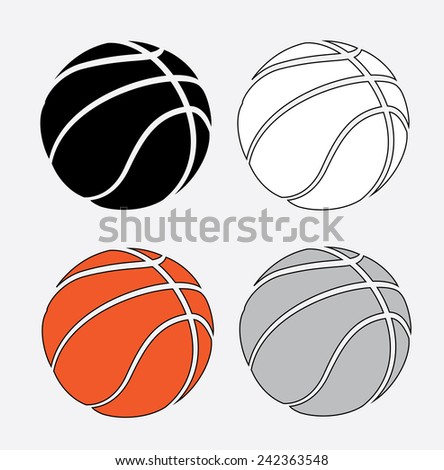 basketball poster design, vector illustration eps10 graphic  - stock vector