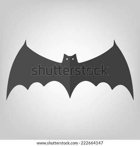 Bat icon for Halloween