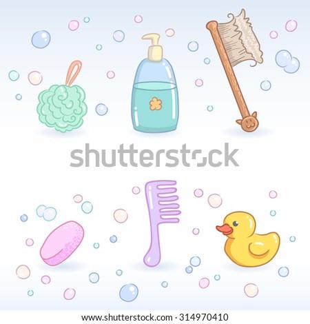 bath accessories shampoo soap wisp of bast bath brush comb