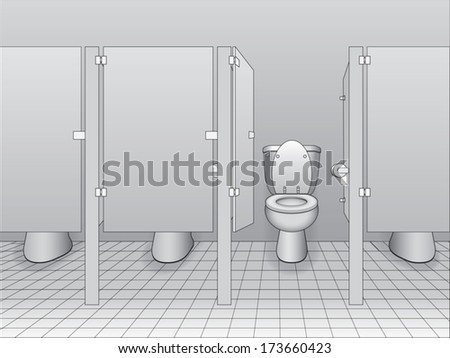 Bathroom Stall Fixtures bathroom stall stock images, royalty-free images & vectors