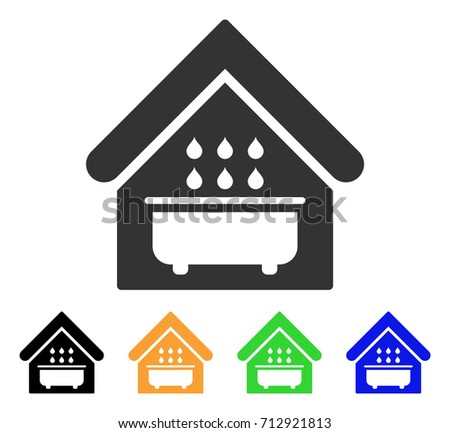 Bathroom Sign Vector Style bathroom icon vector illustration style flat stock vector