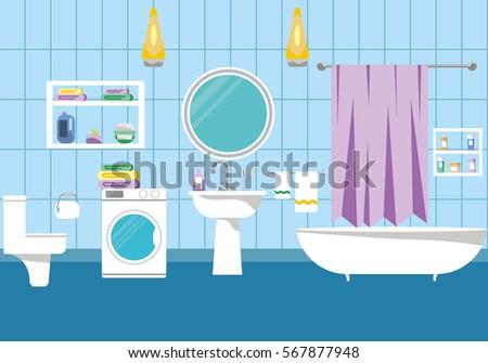 bathroom mirror stock vectors, images & vector art | shutterstock