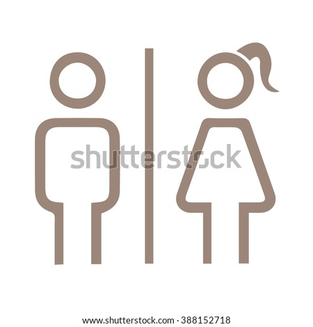 Bathroom Signs Vector Free funny toilet signs stock images, royalty-free images & vectors
