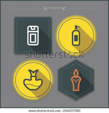 Bathroom Utensils and other related everyday things, from left to right - 