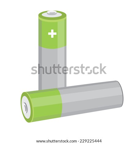 Battery, battery icon, battery vector, battery isolated - stock vector