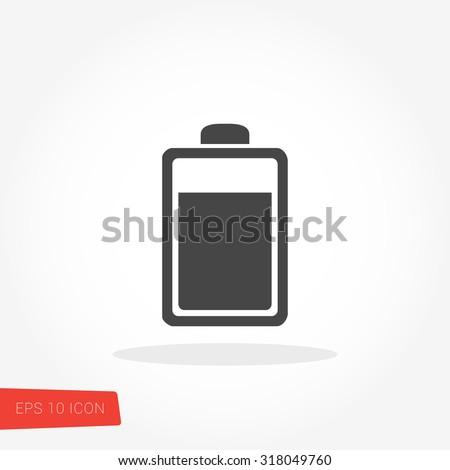 Battery Icon / Battery Icon Vector / Battery Icon Picture / Battery Icon Image / Battery Icon Graphic / Battery Icon Art / Battery Icon JPG / Battery Icon JPEG / Battery Icon EPS / Battery Icon AI - stock vector