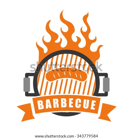 Bbq and butchery theme design, vector illustration graphic design