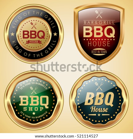 Bbq House badges