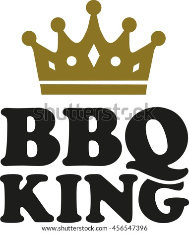 bbq king crown stock vector hd royalty free 456547396 shutterstock rh shutterstock com king crown vector king's crown vector image