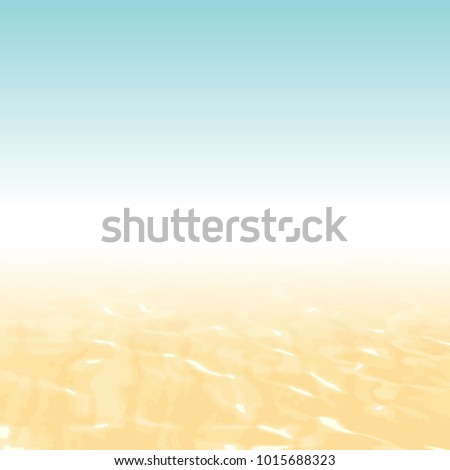 Beach background gradient - abstract summer concept