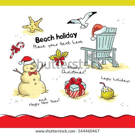 Snowman Beach Stock Images, Royalty-Free Images & Vectors ...