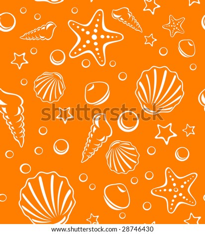 Beach sand background - stock vector