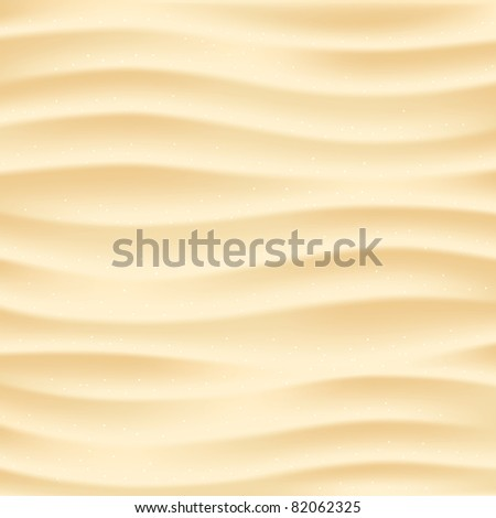 Beach sand background. Mesh - stock vector