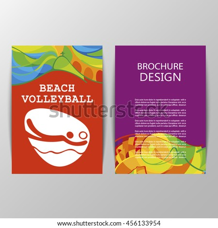Beach Volleyball sport icon sign. Web button in chrome ring isolated on black background. Brazil Summer Games 2016 Rio de Janeiro.  - stock vector