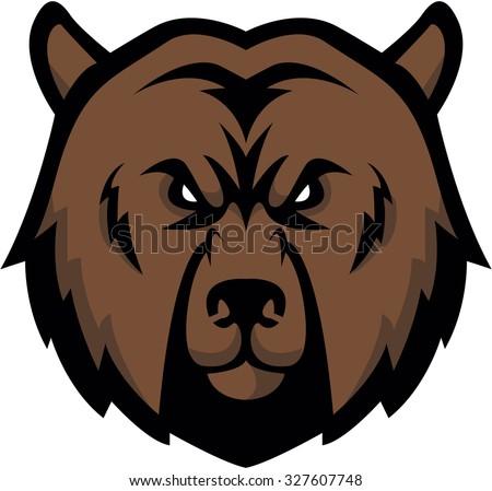 Bear Illustration design - stock vector