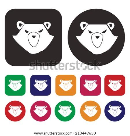 Bear Market / Stock market / Finance - stock vector