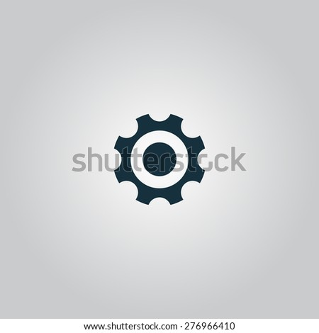 Bearing. Flat web icon or sign isolated on grey background. Collection modern trend concept design style vector illustration symbol - stock vector