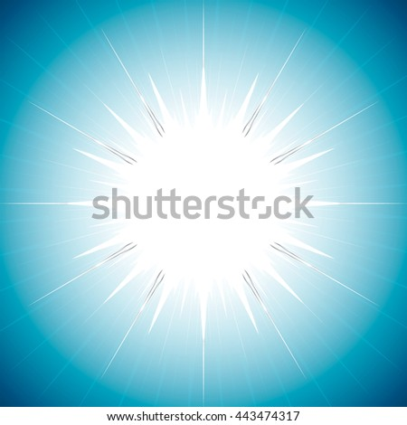 Beautiful abstract starburst background vector illustration art