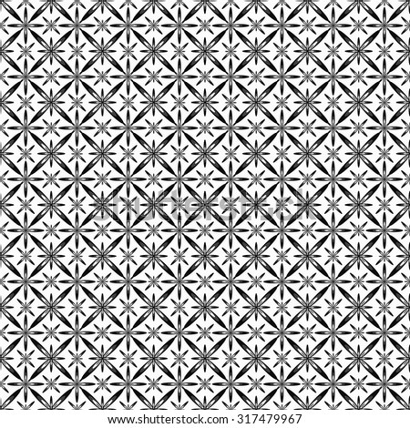 Beautiful abstract stars on a white background seamless pattern vector illustration