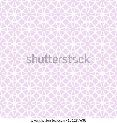 Beautiful background of modern seamless geometric pattern - stock vector