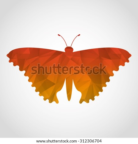 beautiful butterfly design, vector illustration eps10 graphic