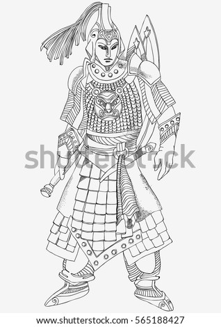 Chinese Warrior Stock Images, Royalty-Free Images ...