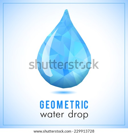 White Vector Paper Water Drop Origami Stock Vector ... - photo#16