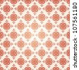 Beautiful elegant seamless vector pattern - stock vector