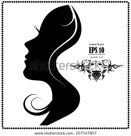 female face silhouette stock images, royalty-free images & vectors