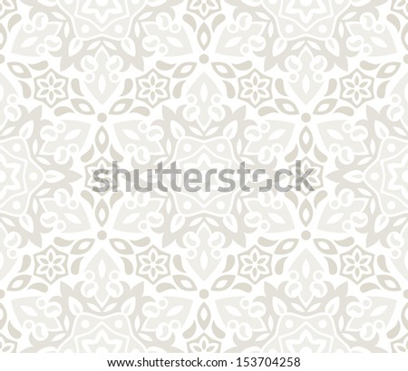 Beautiful floral background. Seamless pattern. Perfect for wedding design. EPS 8 vector illustration. - stock vector