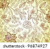 Beautiful floral background,vector illustration - stock vector
