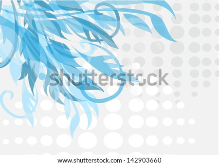 beautiful flower. Abstract background.