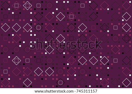 Beautiful geometric pattern design