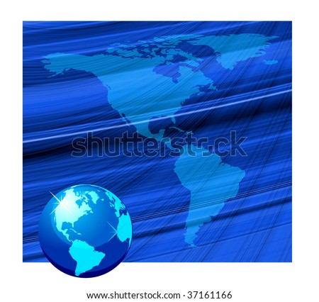 Beautiful globe background