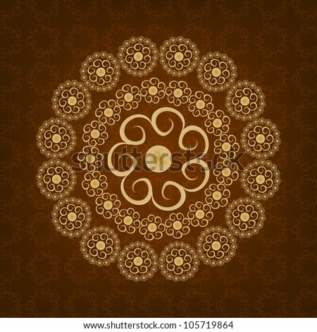 Beautiful Islamic Background. Jpeg Version Also Available In Gallery. - stock vector