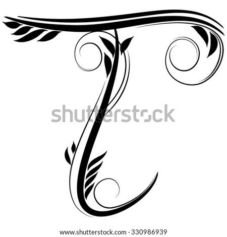 initials tattoo symbolic t tattoo. Black Bedroom Furniture Sets. Home Design Ideas