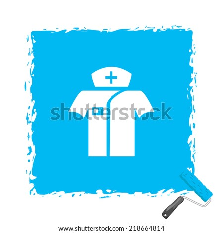 Beautiful Medical Clother web icon