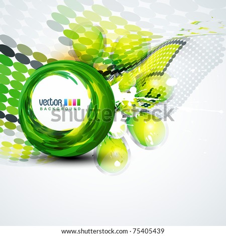 beautiful vector abstract design art
