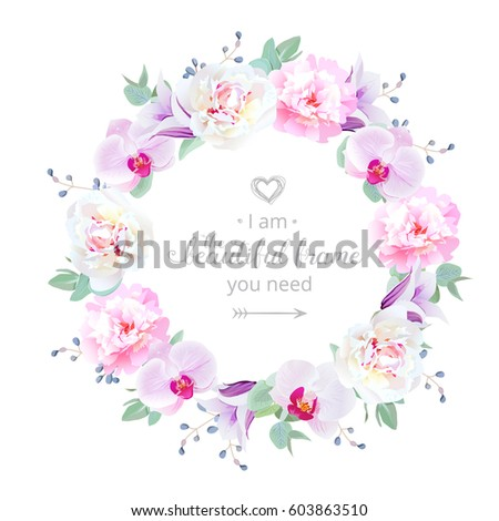 Purple Peonies Stock Vectors, Images & Vector Art | Shutterstock