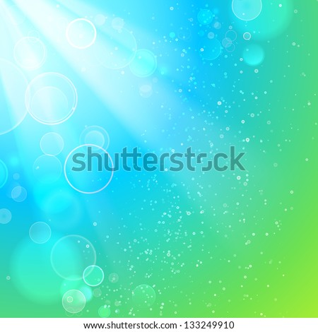 Beautiful winter background. Vector illustration, contains transparencies, gradients and effects.
