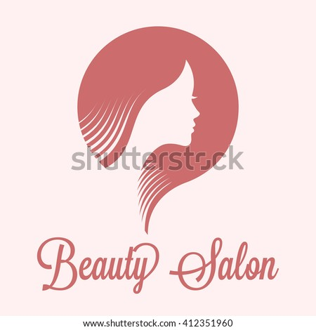 Beautiful woman face. Suitable for fashion and beauty salon